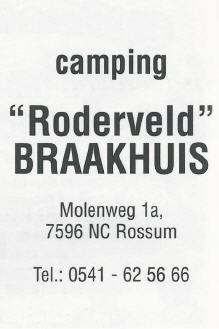 camping roderveld