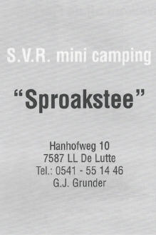 camping sproakstee